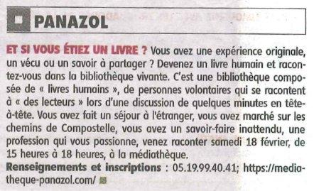 le-populaire-8-janvier-2017-bibliotheque-vivante