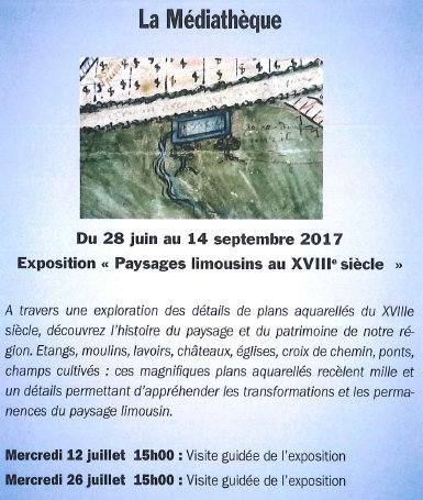 flyer visite guidée