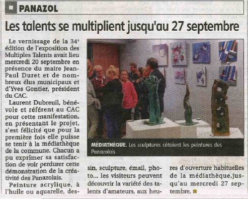 Le populaire 22 septembre 2017 multiples talents